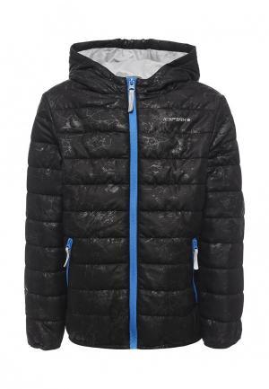 Куртка утепленная Icepeak. Цвет: черный