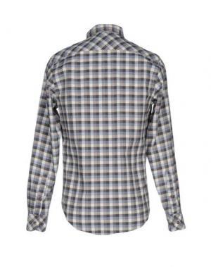 Pубашка MCS MARLBORO CLASSICS. Цвет: серый