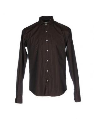 Pубашка BARBATI. Цвет: темно-коричневый