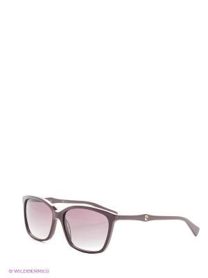 Солнцезащитные очки Pierre Cardin. Цвет: бордовый, черный