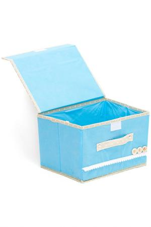 Коробочки для хранения 2шт. HOMSU. Цвет: голубой