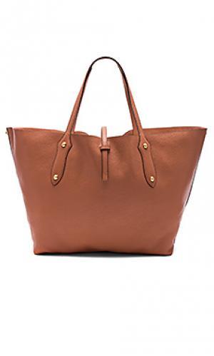 Большая сумка-тоут isabella Annabel Ingall. Цвет: персиковый