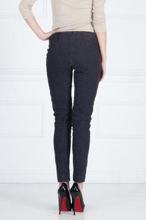 Хлопковые брюки Yigal Azrouel. Цвет: синий