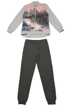 Комплект: джемпер и брюки Dodipetto. Цвет: розовый