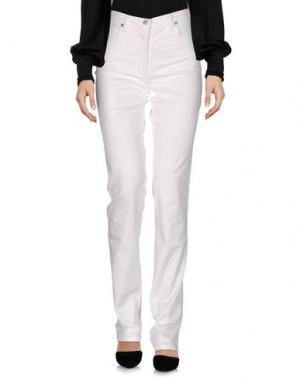 Повседневные брюки CARLA CARINI. Цвет: белый