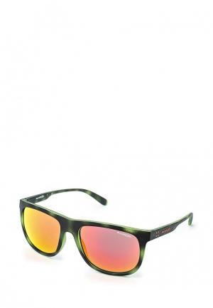 Очки солнцезащитные Arnette. Цвет: хаки