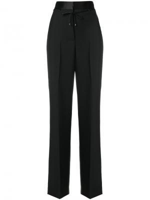 Костюмные брюки с завышенной талией Bottega Veneta. Цвет: чёрный