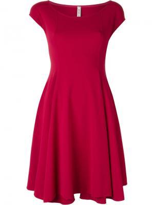 Расклешенное платье без рукавов Antonio Marras. Цвет: розовый и фиолетовый