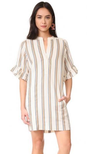 Платье Margarita в полоску Whistles. Цвет: мульти