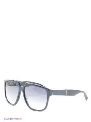 Солнцезащитные очки BLD 1404 201 Baldinini. Цвет: синий