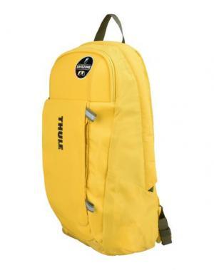 Рюкзаки и сумки на пояс THULE®. Цвет: желтый