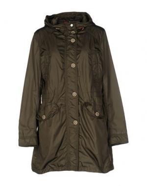 Легкое пальто JAN MAYEN. Цвет: зеленый-милитари