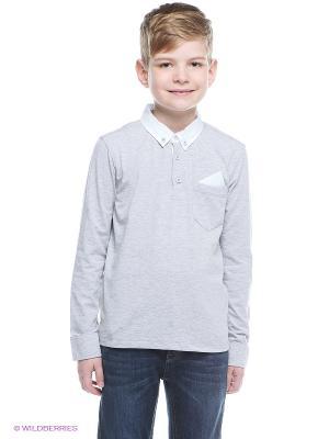 Пуловер Nota Bene. Цвет: серый меланж