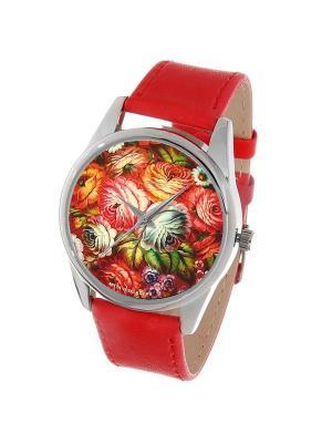 Часы Mitya Veselkov. Цвет: коралловый