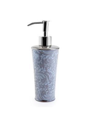Дозатор для жидкого мыла KASSATEX. Цвет: серый