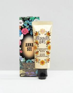 Anna Sui Бальзам Illuminating Beauty Balm. Цвет: бежевый