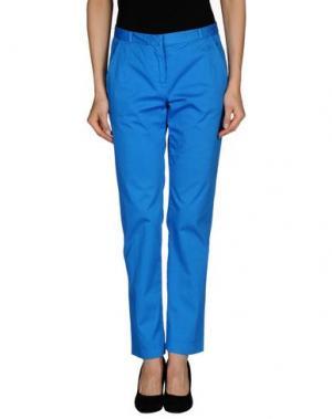 Повседневные брюки ..,MERCI. Цвет: лазурный