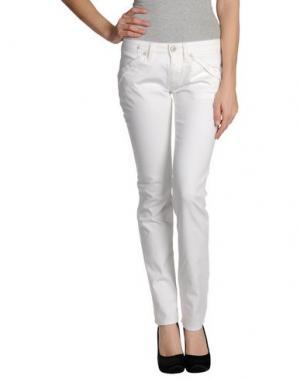 Джинсовые брюки WE ARE REPLAY. Цвет: белый