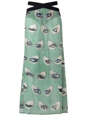 Long printed skirt Adriana Degreas. Цвет: none