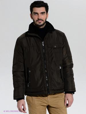 Куртка Claudio Campione. Цвет: темно-коричневый
