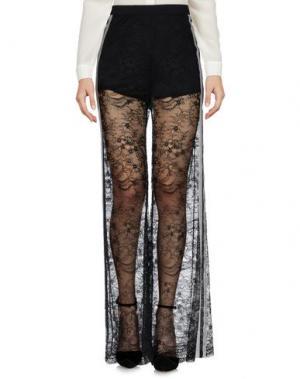 Повседневные брюки UDIAVIU. Цвет: черный