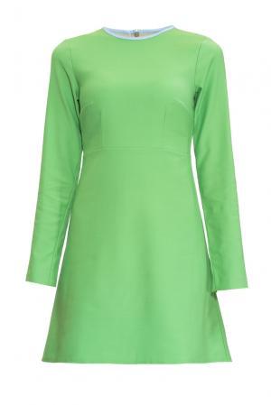 Платье 155197 Villa Turgenev. Цвет: зеленый