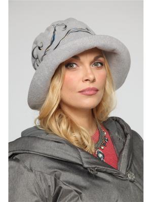 Шляпа Lak Miss. Цвет: серый