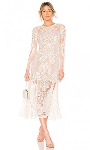Вечернее платье boho bridal Bronx and Banco. Цвет: белый