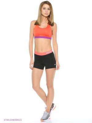 Шорты NP CL 3 SHORT Nike. Цвет: черный, розовый