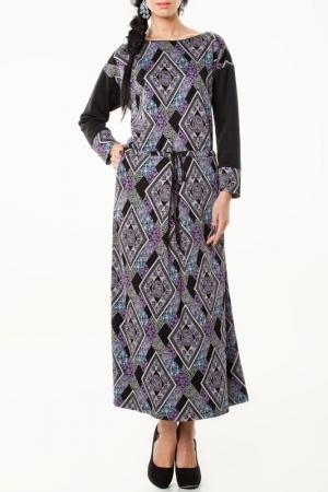 Платье Миллер LESYA. Цвет: мультицвет