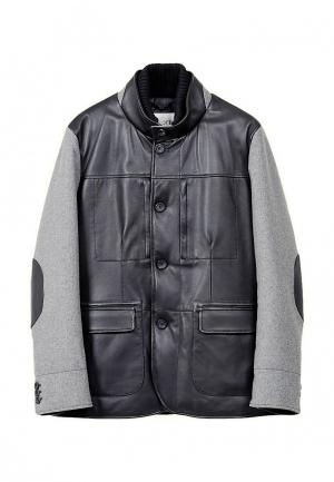 Куртка GALLOTTI. Цвет: черный