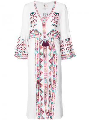 Платье Minette Figue. Цвет: белый