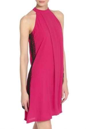 Вечернее платье свободного покроя GIRLS ON FILM. Цвет: розовый