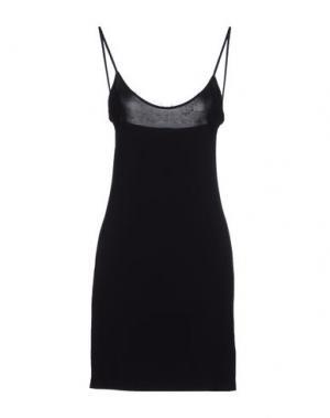 Короткое платье FELIPE OLIVEIRA BAPTISTA. Цвет: черный