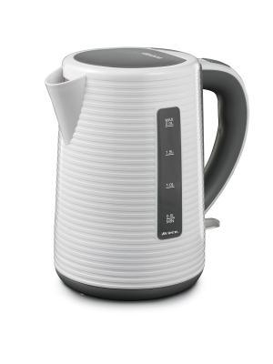 Ariete Чайник электрический 2898. Мощность 2200 Вт, объем 1,7 л,белый. Цвет: белый
