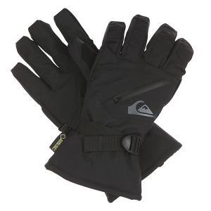 Перчатки сноубордические  Over Hill Glove Black Quiksilver. Цвет: черный