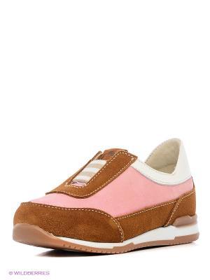 Ботинки TAPiBOO. Цвет: белый, коричневый, розовый