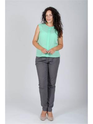 Блузка Лагуна. Цвет: светло-зеленый