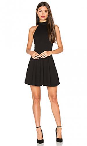 Платье salo Privacy Please. Цвет: черный