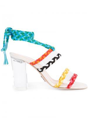 Босоножки со шнурком Ritch Erani NYFC. Цвет: многоцветный