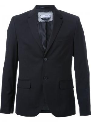Пиджак с заплаткой логотипом Selfmade By Gianfranco Villegas. Цвет: чёрный
