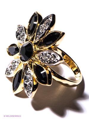Кольцо Jenavi. Цвет: золотистый, черный, серебристый