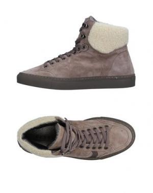 Высокие кеды и кроссовки PLAYHAT. Цвет: серый