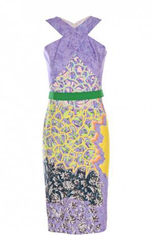 Платье Peter Pilotto. Цвет: желтый
