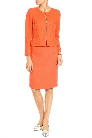 Костюм: пиджак, юбка Weill. Цвет: оранжевый