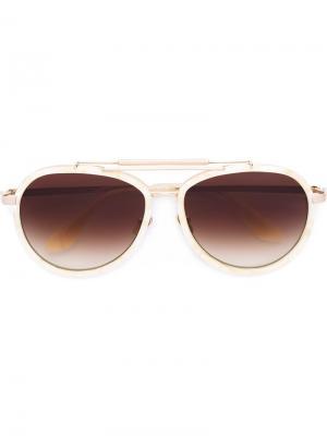 Солнцезащитные очки Burly Lion Frency & Mercury. Цвет: металлический