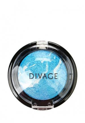 Тени для век Divage. Цвет: синий