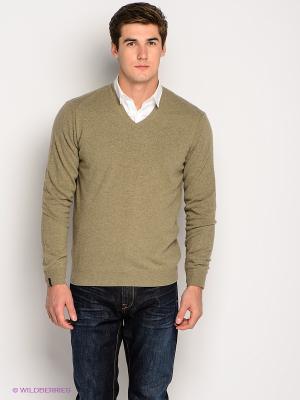 Пуловер Bramante. Цвет: серо-зеленый