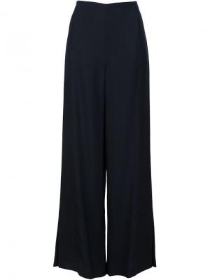 Palazzo trousers Rosetta Getty. Цвет: чёрный