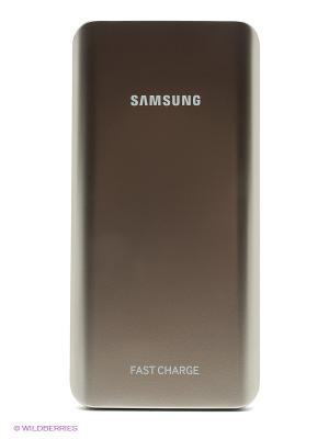 Портативное зарядное устройство Samsung. Цвет: золотистый
